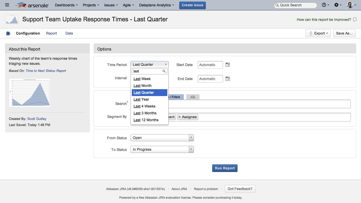 Arsenale Dataplane - Powerful, Intuitive Atlassian Jira